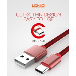 کابل LDNIO LS60 Type-C Data Cable