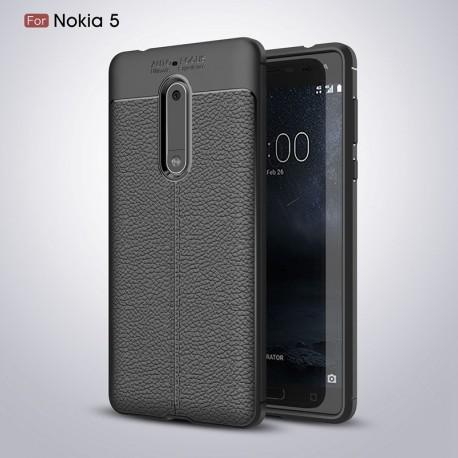 کاور طرح چرم Nokia 5