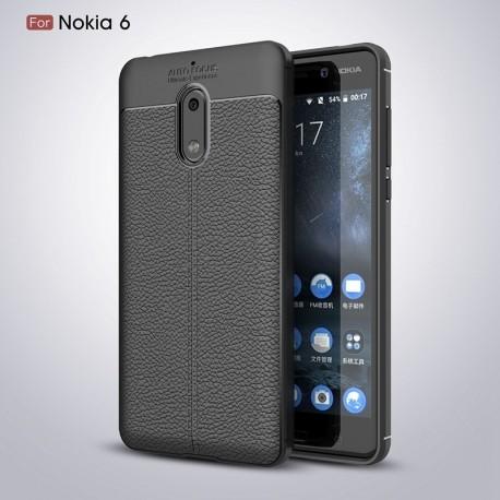 کاور طرح چرم Nokia 6