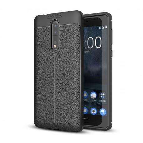 کاور طرح چرم Nokia 8
