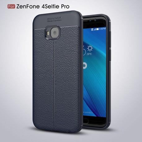 کاور طرح چرم Asus Zenfone 4 Selfie pro