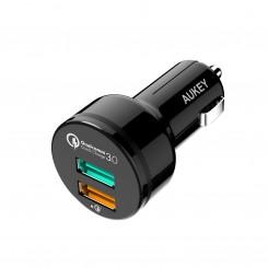 شارژر فندکی Aukey CC-T7 Quick Charge 3.0